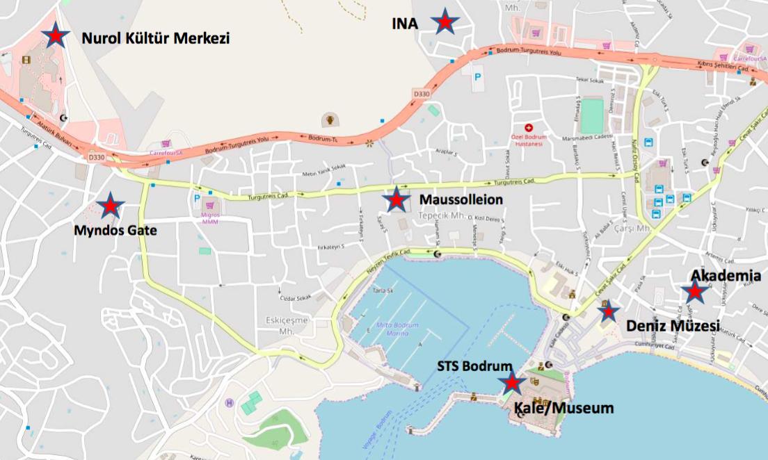 Bodrum Karte.Deguwa Ipr Xxiv Bodrum Türkei 2019